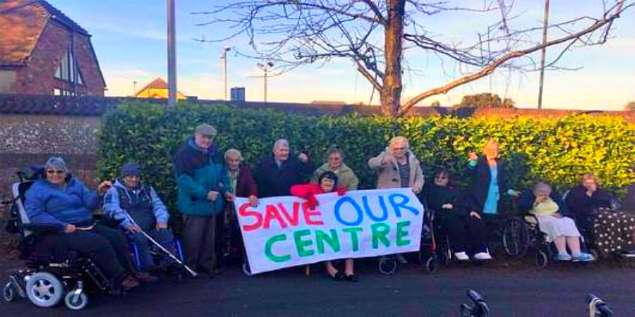 People rally to save Health and Wellbeing Centre