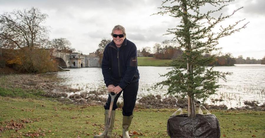 Duke Plants Cedar to Celebrate 'Capability' Brown Anniversary