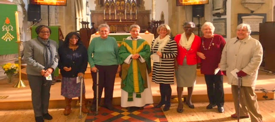 Bicester Mother's Union going strong with seven new members