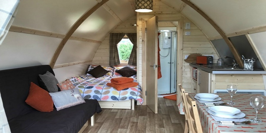 Glamping is the ultimate luxury family break