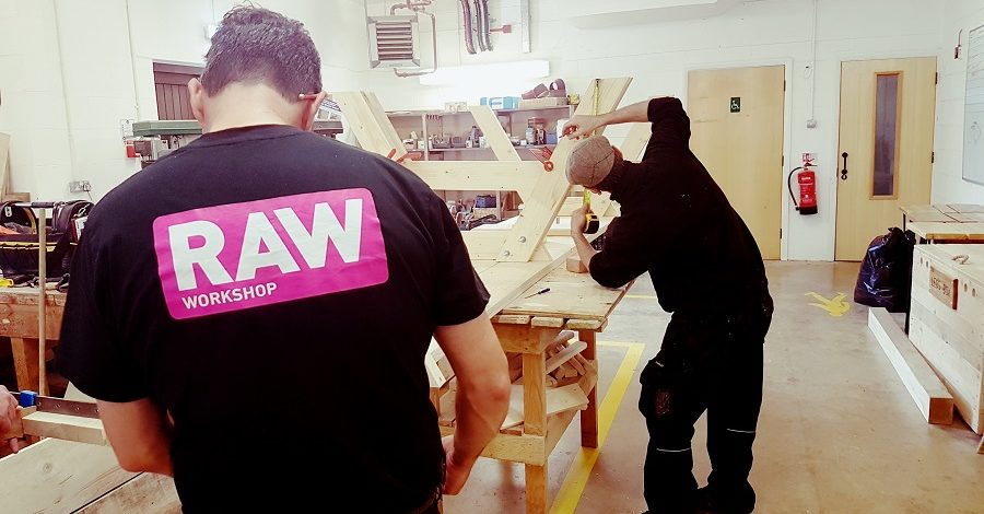 Blenheim Palace helping RAW do good with wood