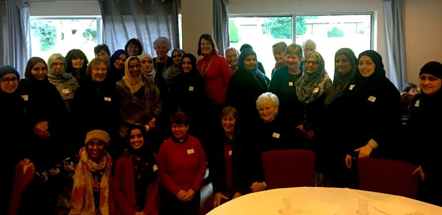 MP JOINS LOCAL CHRISTIAN AND MUSLIM COMMUNITY AT WOMEN'S LUNCH
