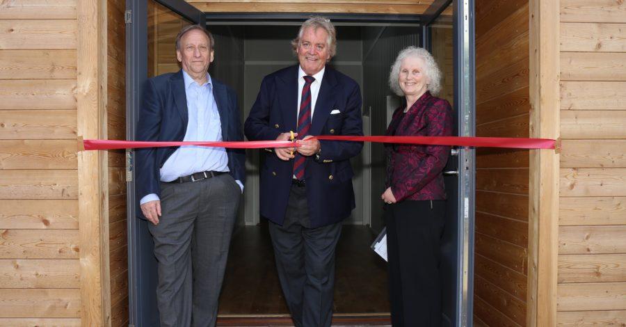 Duke of Marlborough opens Woodstock Youth Centre