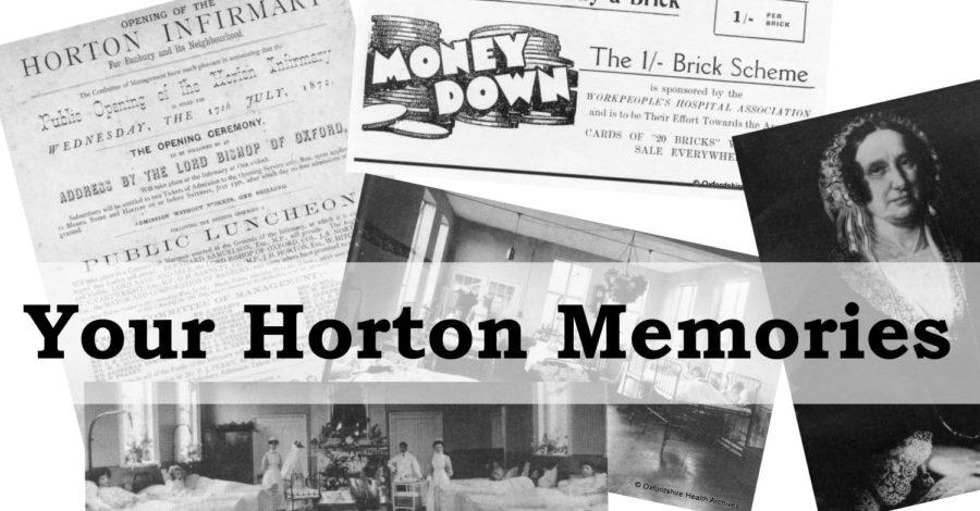Radio Horton calls for Your Horton Memories