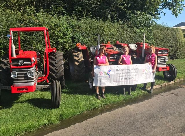 Mad birds and tractors take to the roads to raise cash