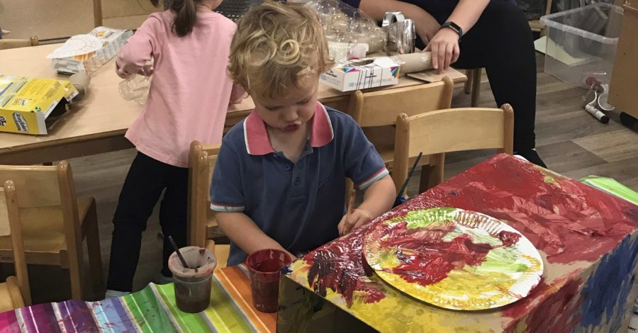 Recycle Week celebrated at local nursery