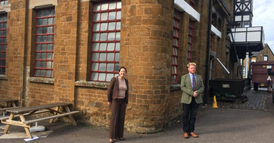 MP visits Hook Norton Brewery
