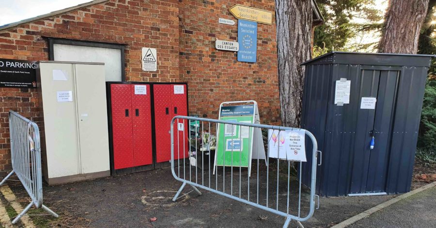 Bicester's Community fridge has a new temporary home