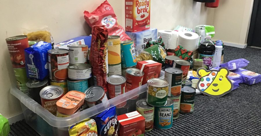 Nursery supports Children In Need through new community food bank