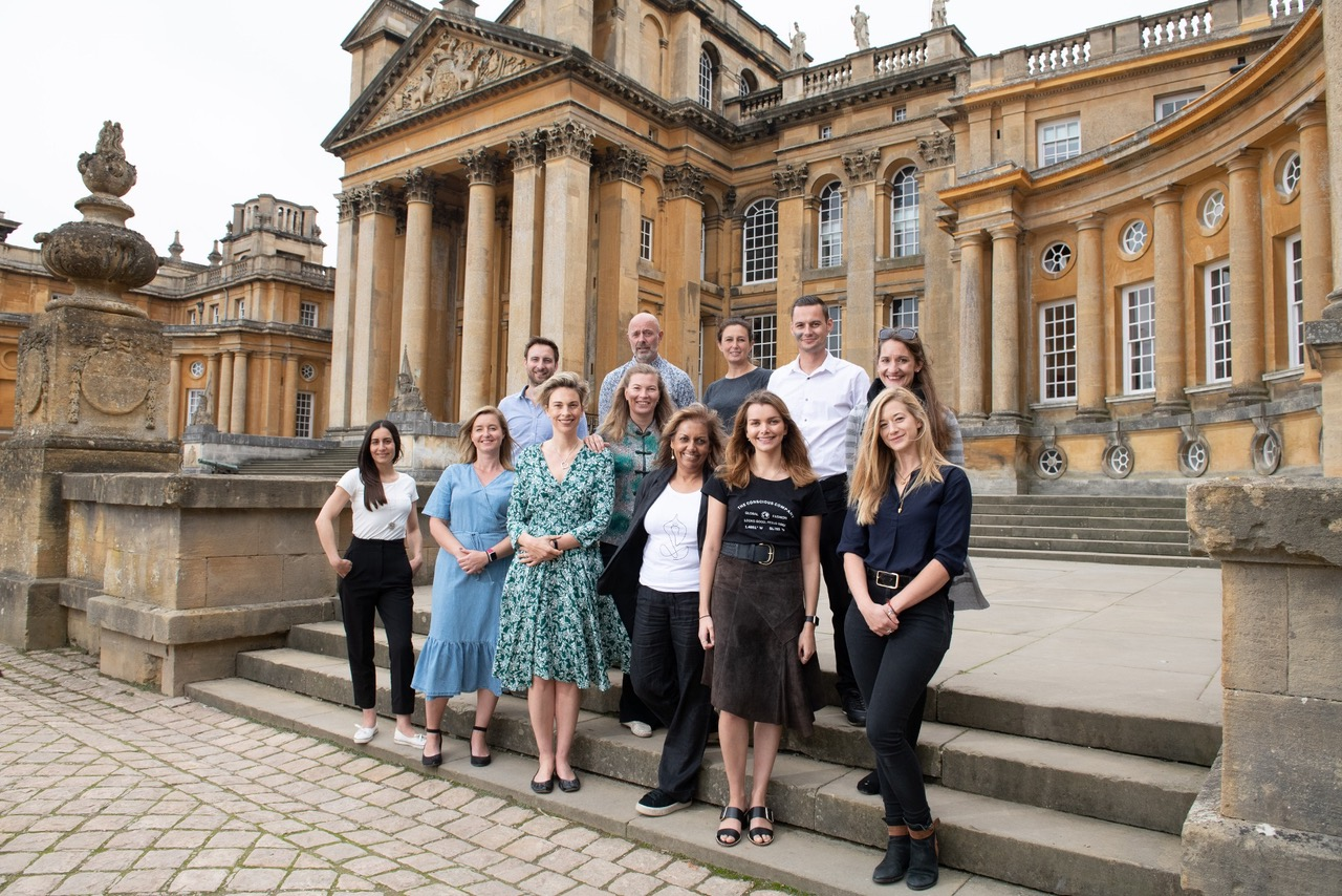 The 2019 Start Up Competition Finalists Outside Blenheim Palace