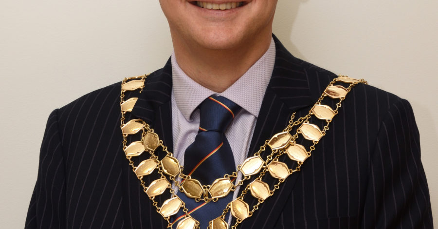 Bicester's new mayor pledges post lockdown support for the town, and education charities