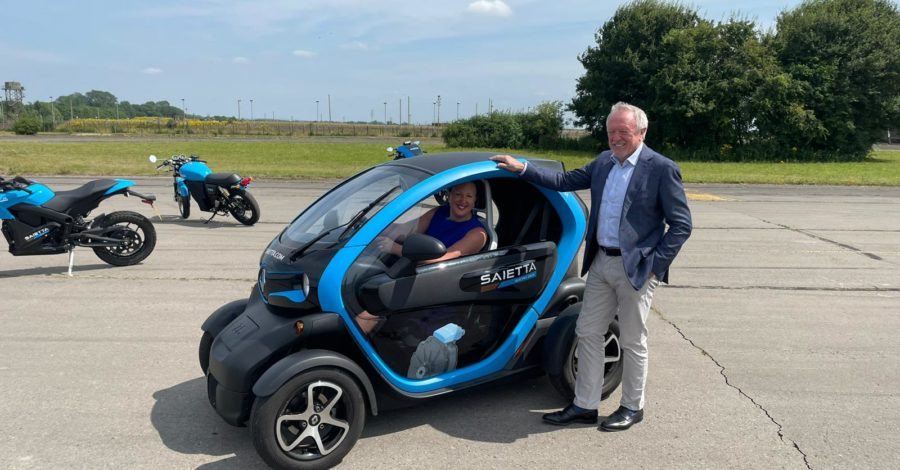 BICESTER MP VISITS SAIETTA ELECTRIC DRIVE TO DISCUSS PLANS TO BRING MORE ENGINEERING JOBS TO LOCAL AREA